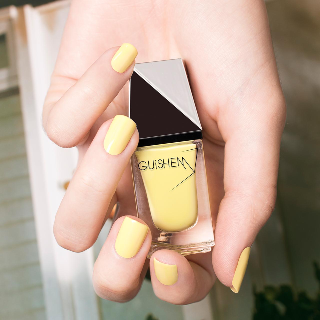 GUiSHEM Premium Nail Lacquer Crème Baby Yellow, Aurora - 210