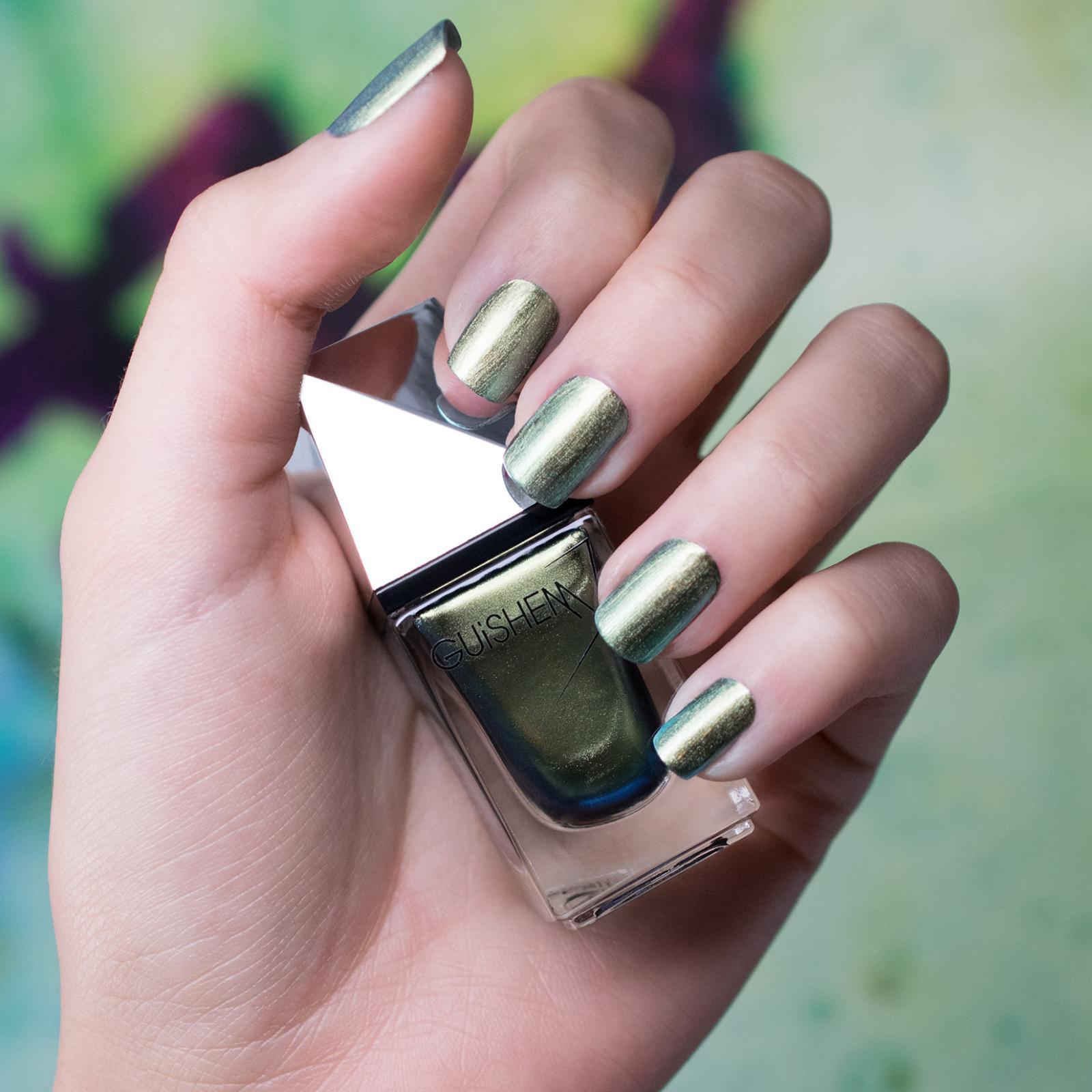 GUiSHEM Premium Nail Lacquer Metal Iridescent, Lauta - 581