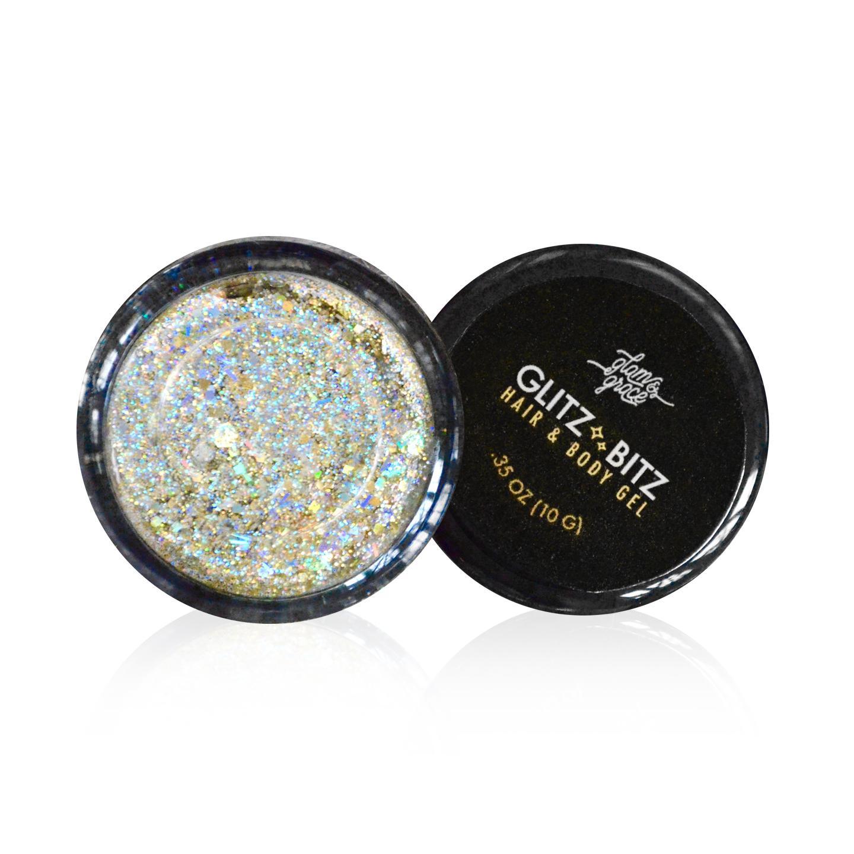 Glitz Bitz Glitter Gel - Crushed Metals