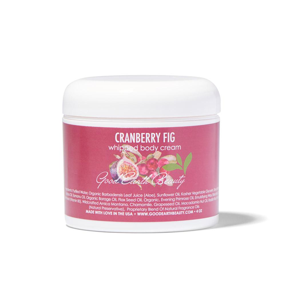 Body Cream - All Natural Cranberry Fig by Good Earth Beauty