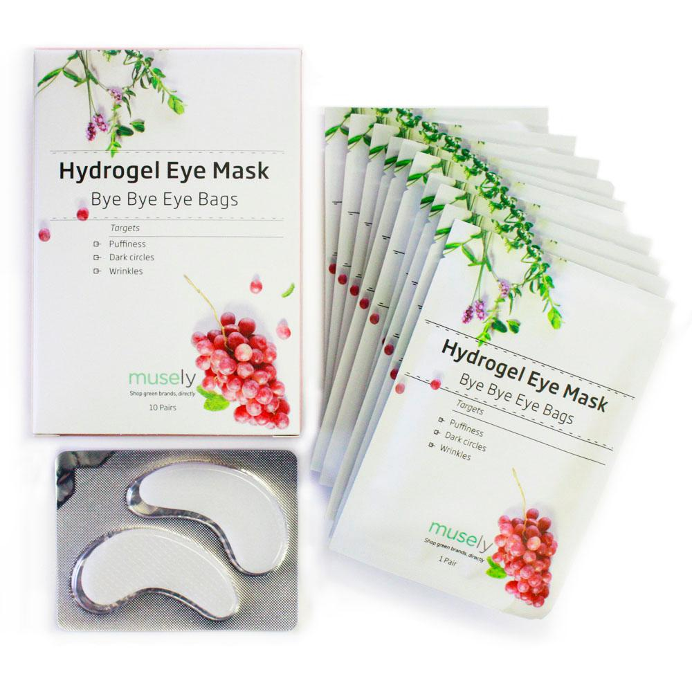 Hydrogel Eye Mask - Bye Bye Eye Bags (Box of 10 pairs)