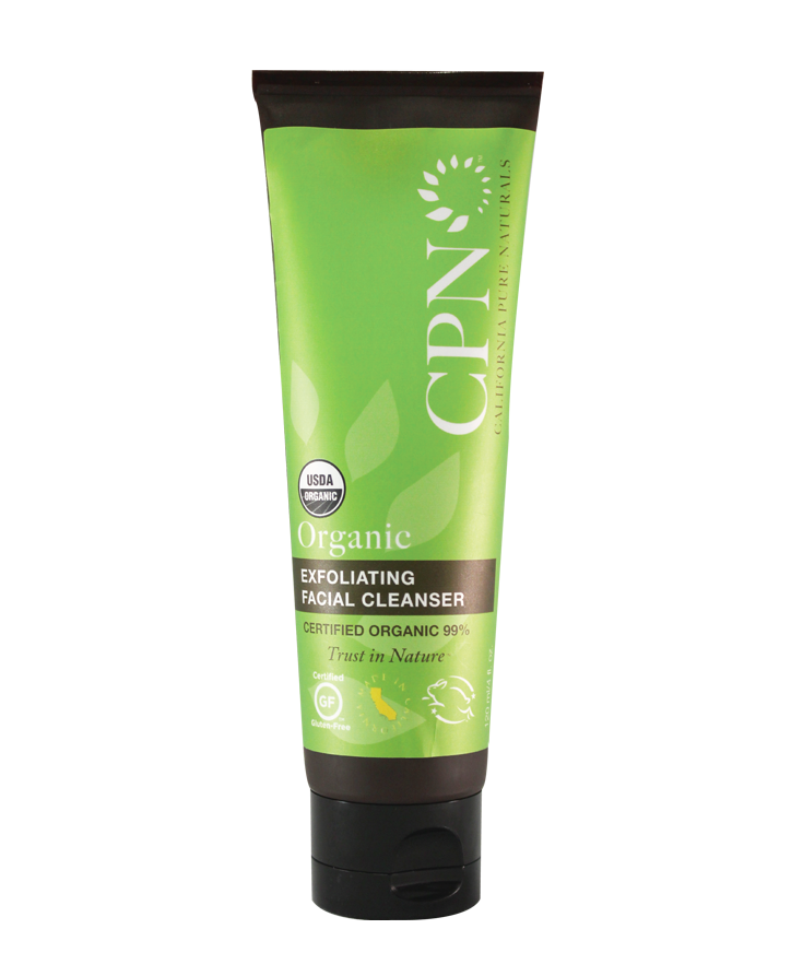 CPN Organic Exfoliating Facial Cleanser