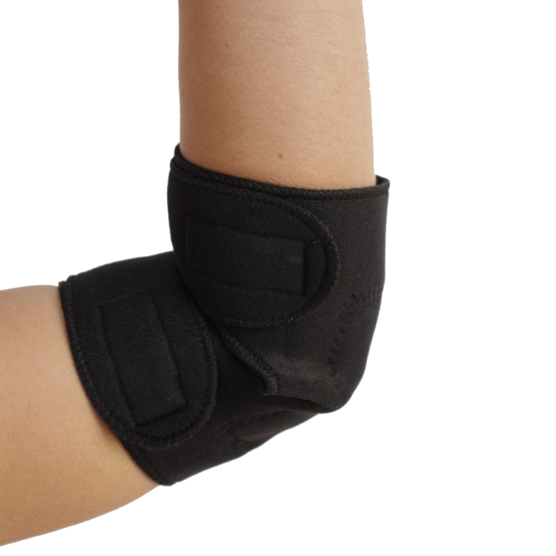 Self-Heating Elbow Support | Magnets & Tourmaline Technology | Adjustable Fit