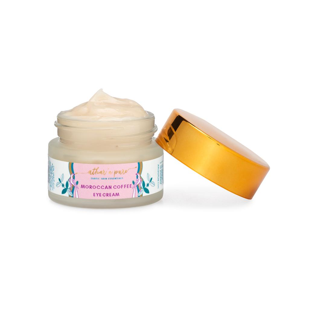 Moroccan Coffee Eye Cream - Best Natural, Vegan Eye Cream