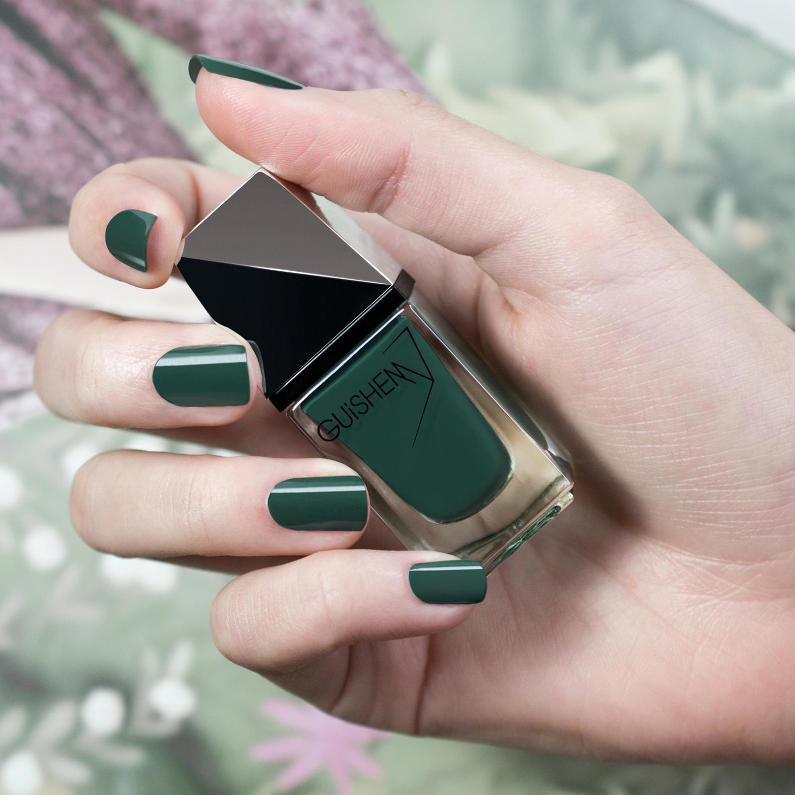 GUiSHEM Premium Nail Lacquer Crème Teal Green, Lagoon - 150