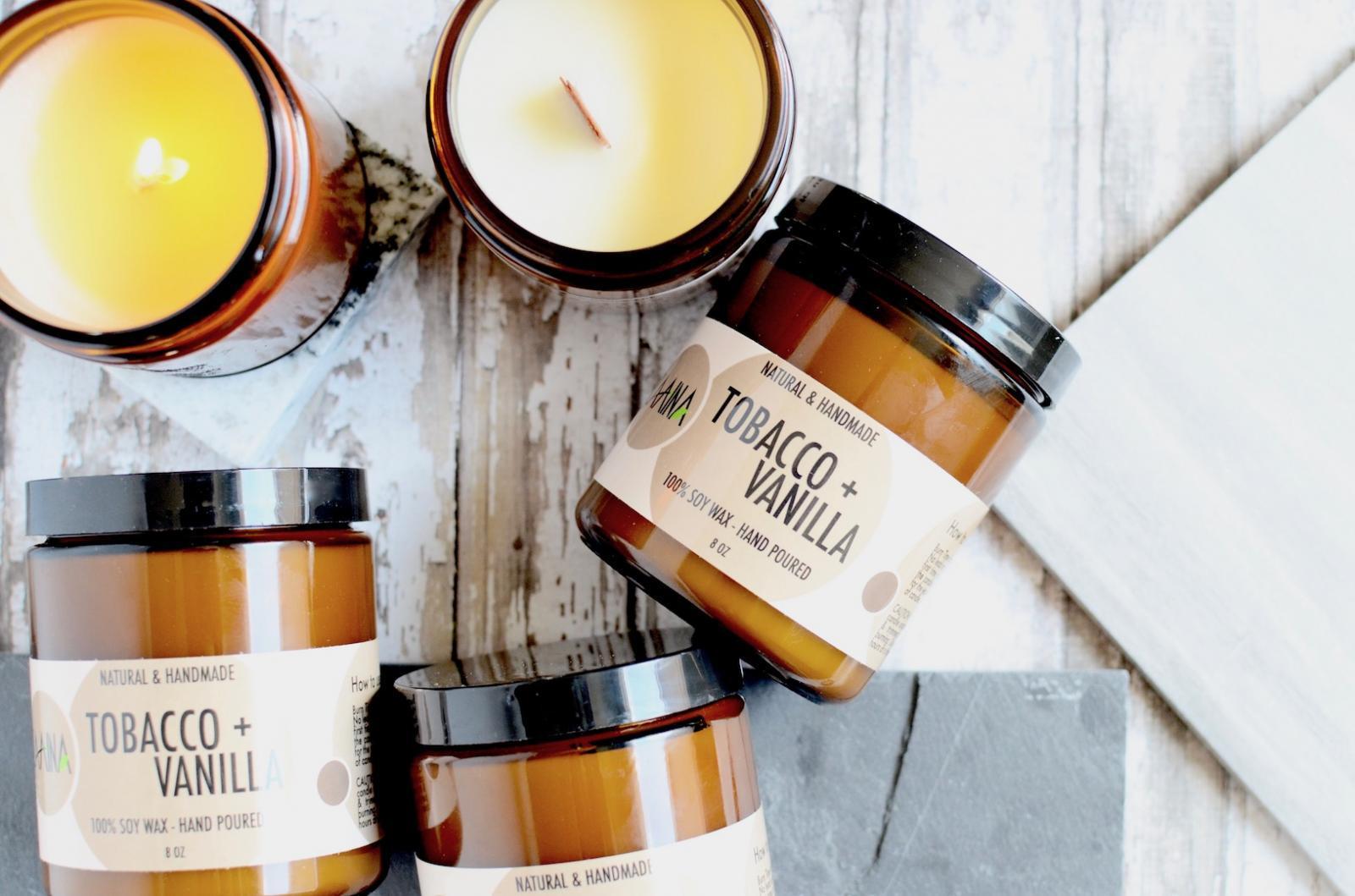 Tobacco + Vanilla Soy Candle