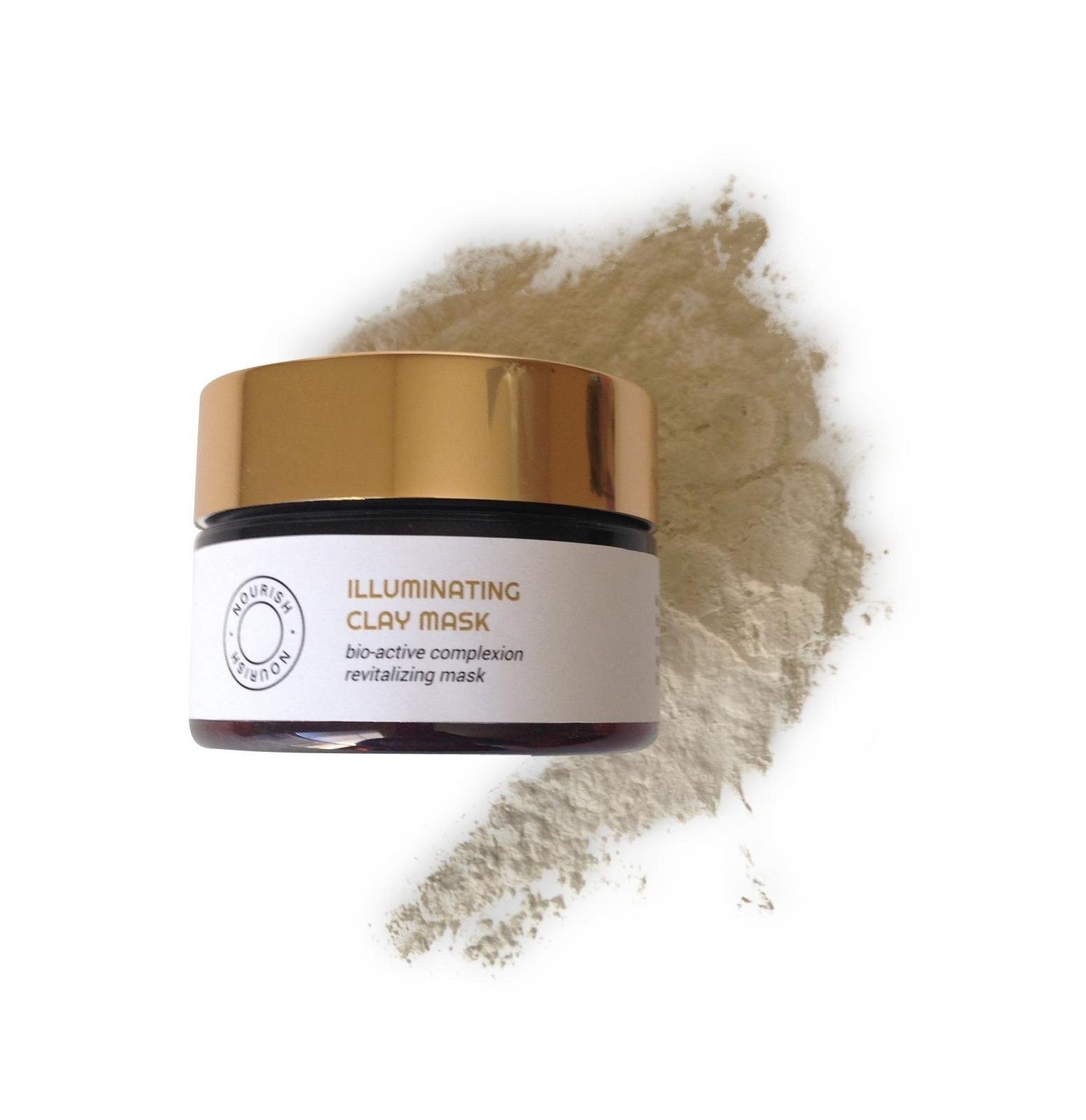Illuminating Clay Mask