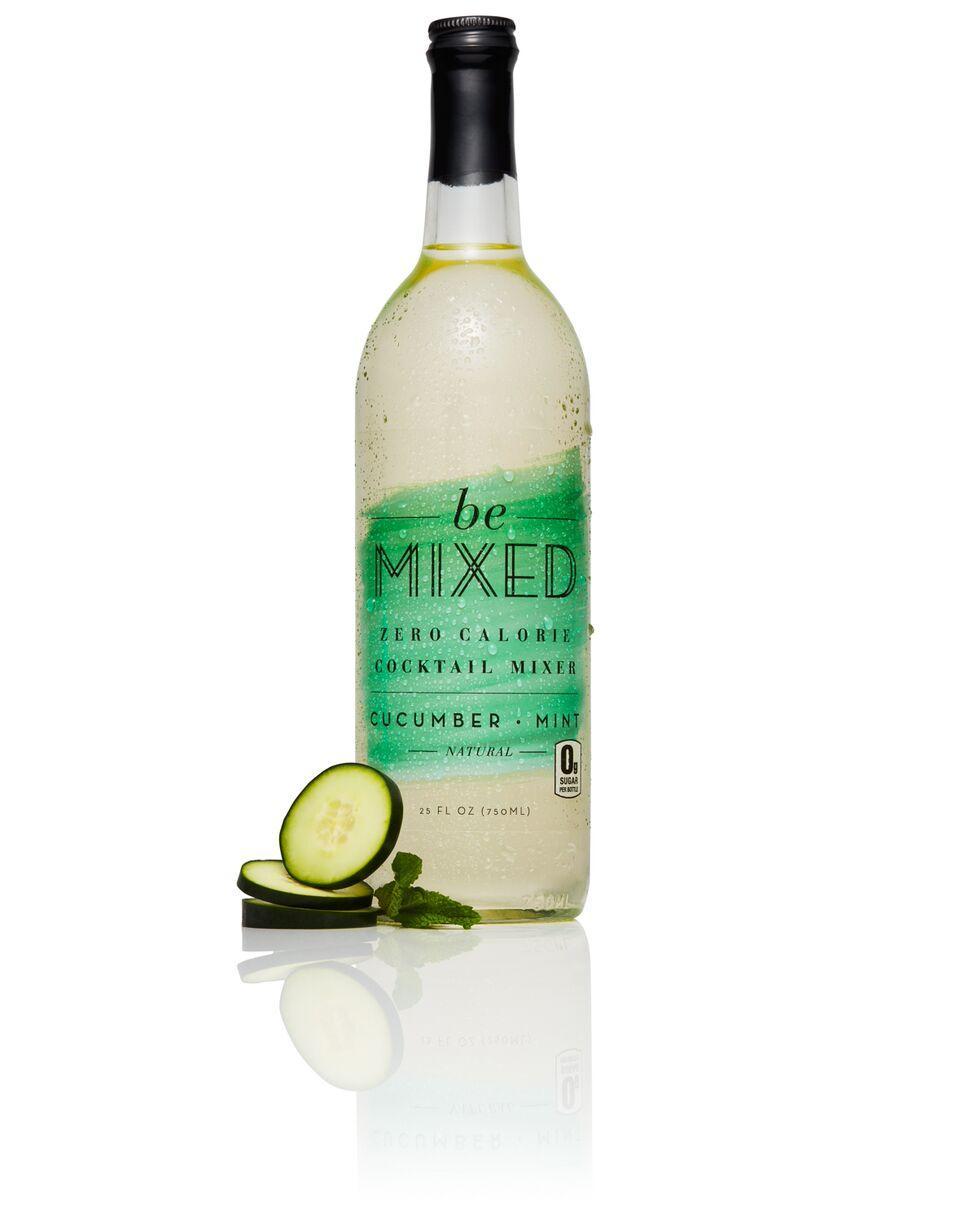 Zero Calorie Cucumber Mint Cocktail Mixer (3 Bottles, 25 oz each)