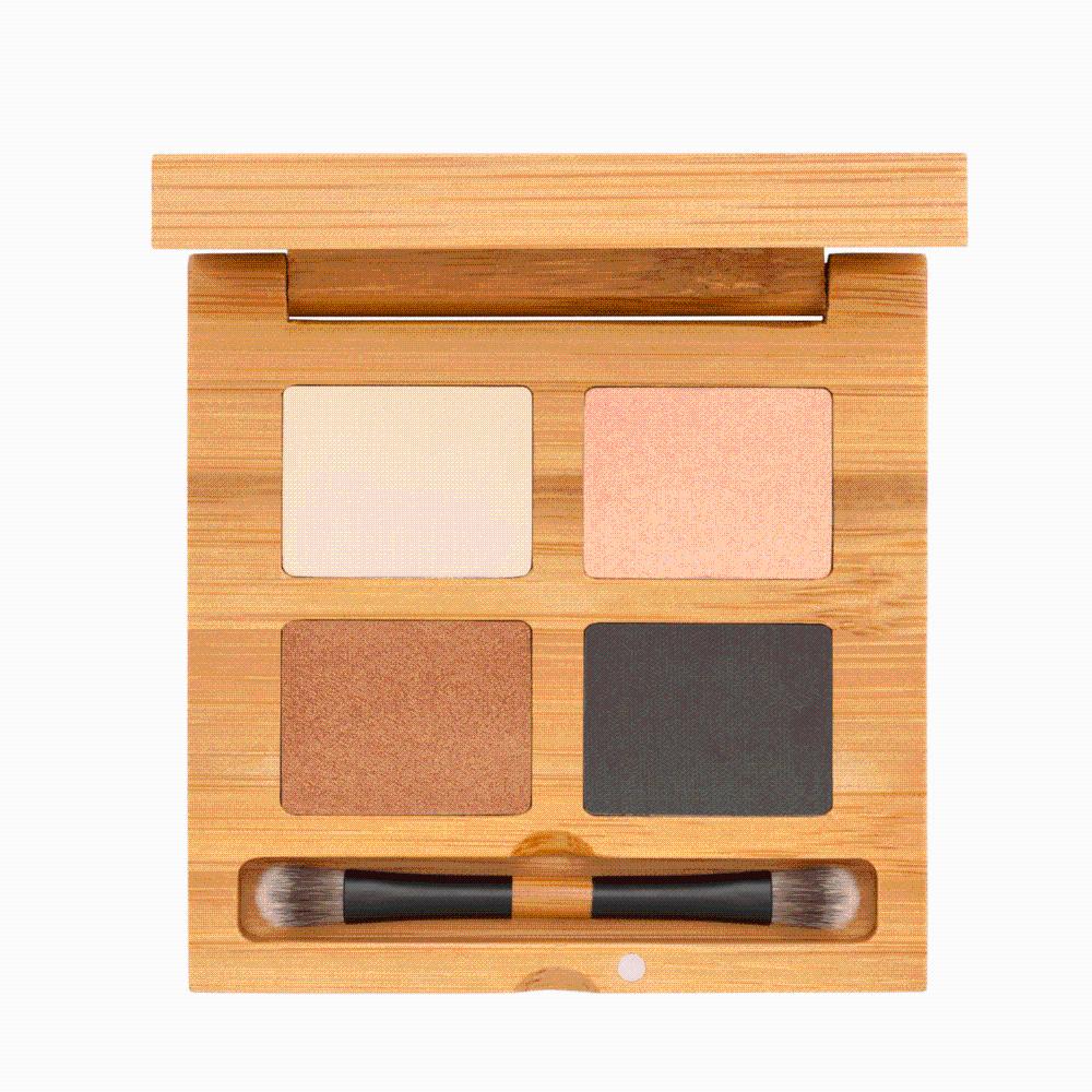 Certified Organic Quattro Eyeshadow Croisette