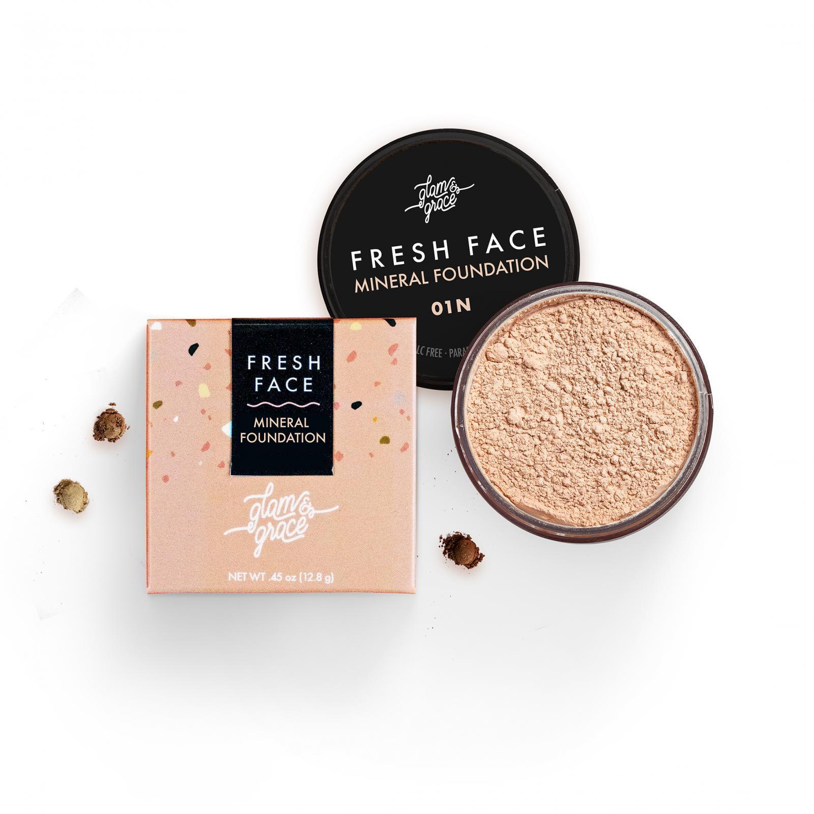 FRESH FACE Mineral Foundation Powder - Light 01N
