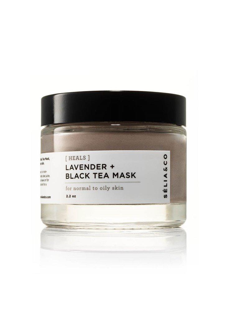 [HEALS] Lavender + Black Tea Mask