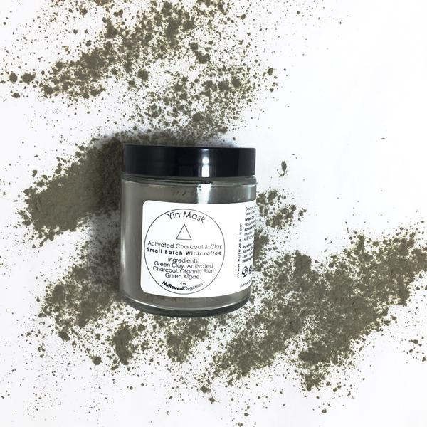 YIN MASK  ACTIVATED CHARCOAL & CLAY