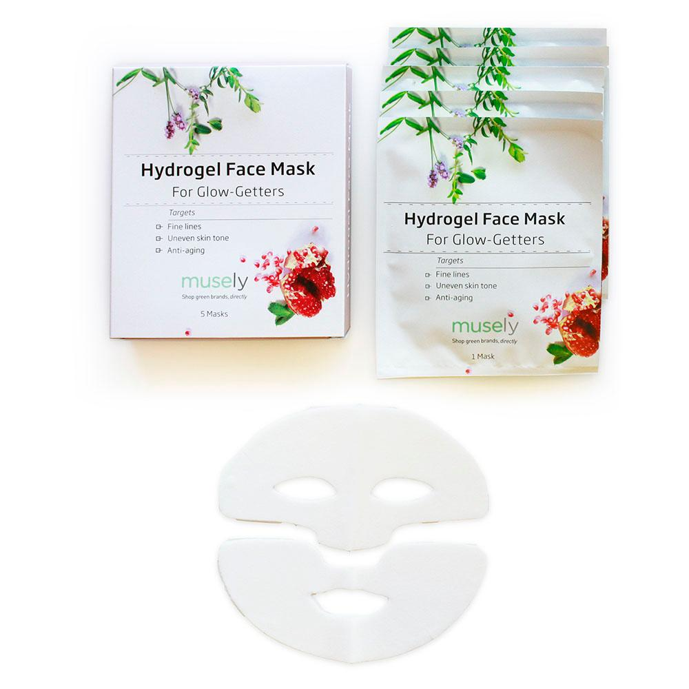Hydrogel Face Mask - For Glow-Getters (Box of 5)