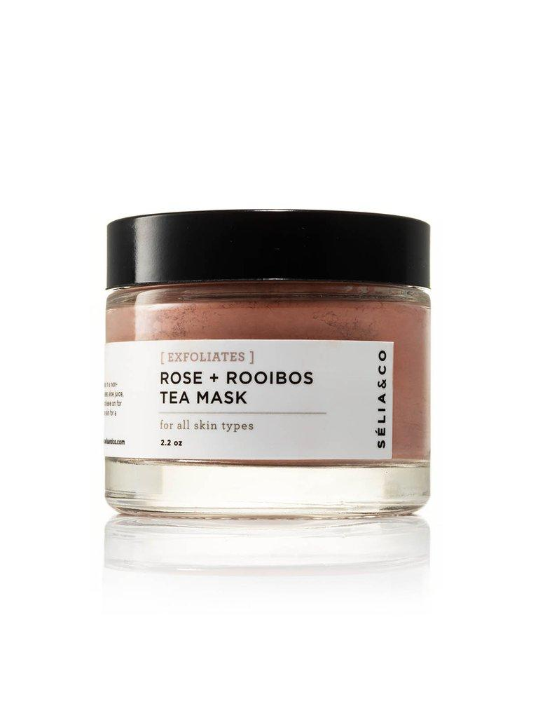 [EXFOLIATES] Rose + Rooibos Tea Mask