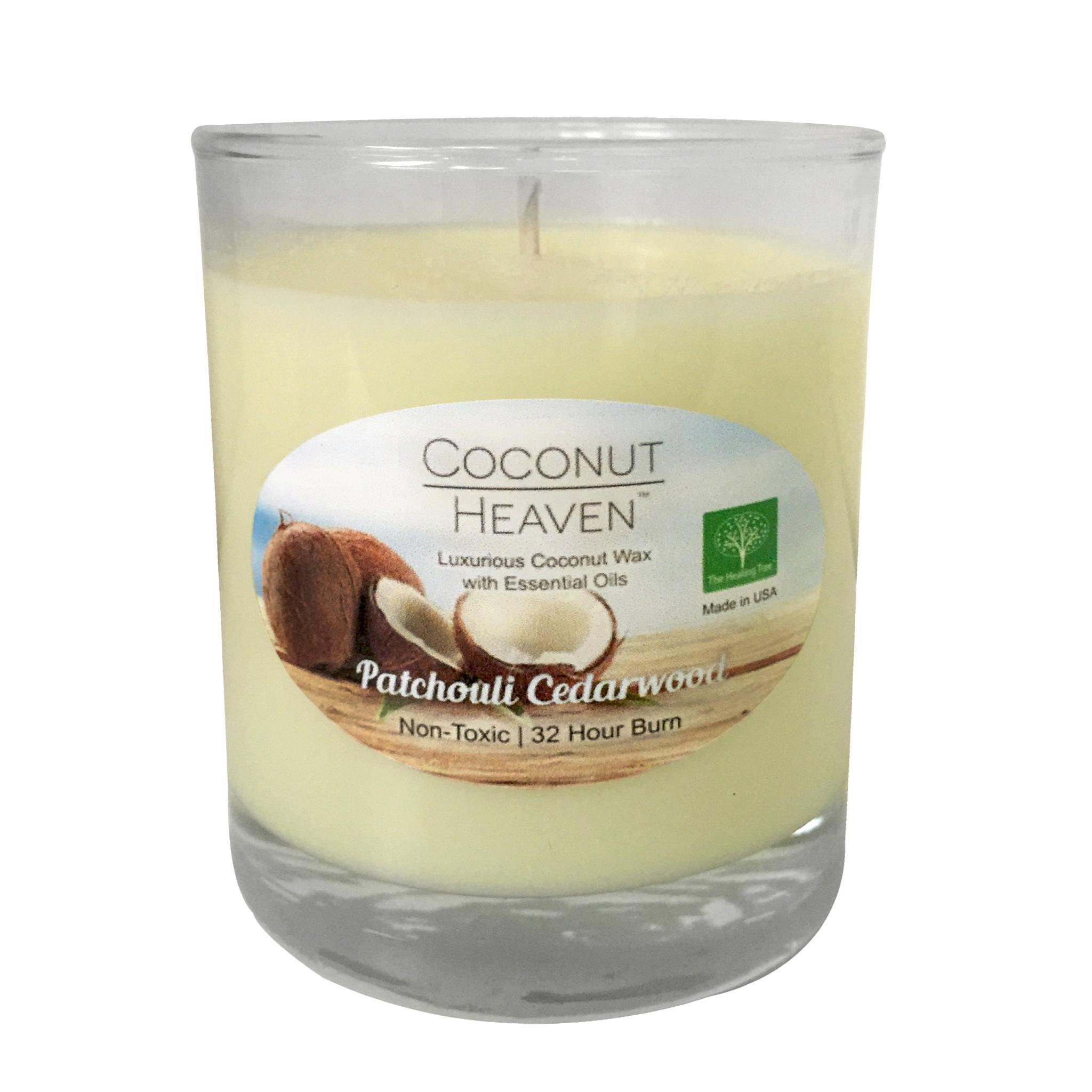 Patchouli Cedarwood Coconut Candle