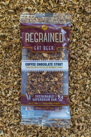 Regrained Sustainable Supergrain Bars - Chocolate Coffee Stout