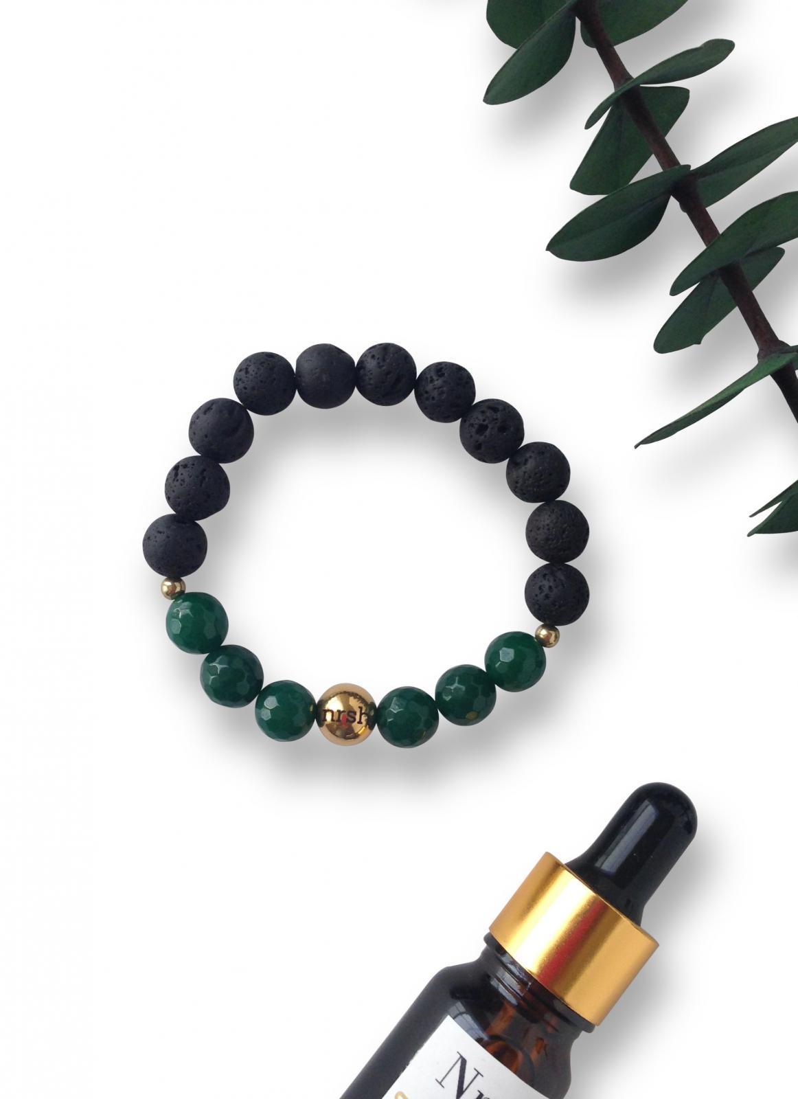 Dream Seeker Lava Stone Aromatherapy Bracelet