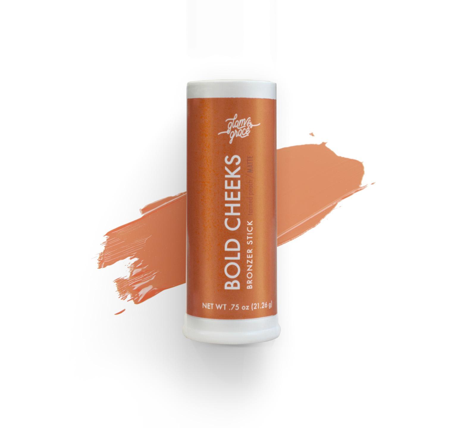 Bold Cheeks Bronzer Stick - Tanned Peach
