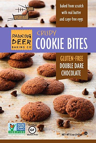 Gluten Free Double Dare Chocolate Crispy Cookie Bite Pouch - cs 8