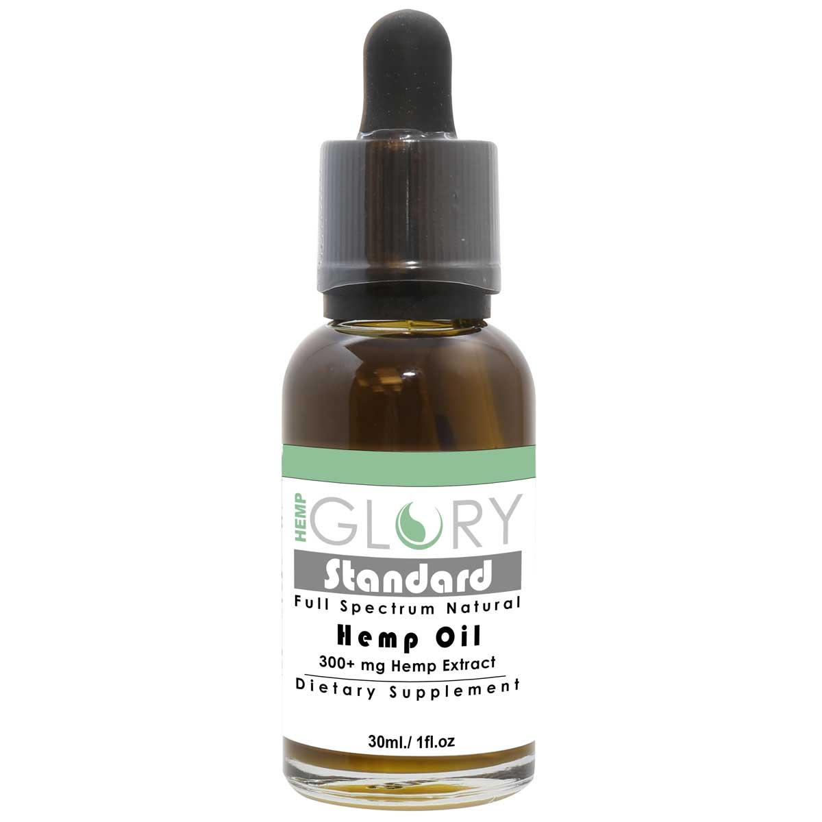 HempGlory Standard 30mL 300mg Hemp Oil Tincture