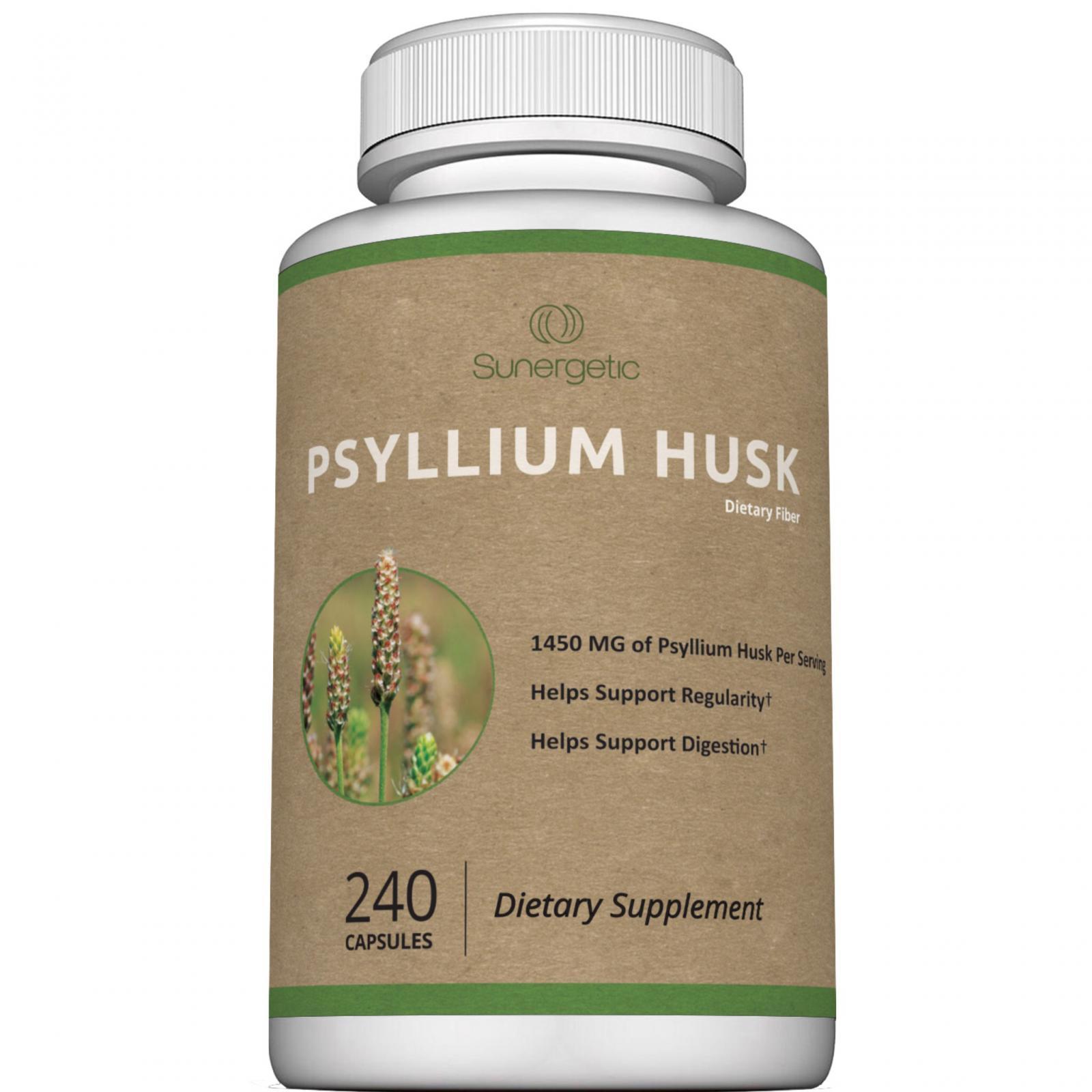 Sunergetic Psyllium Husk Capsules