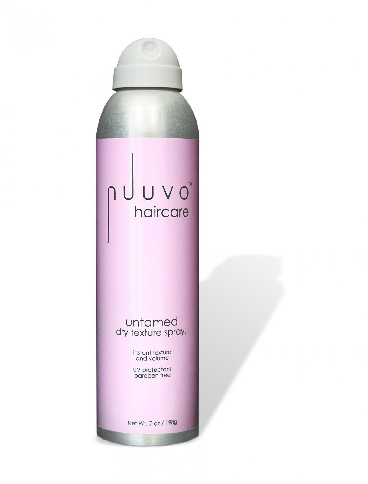 Nuuvo Haircare 'untamed' Salon Professional Dry Texture Hairspray - Adds Volume, Defintion + Fullness. Cruelty free