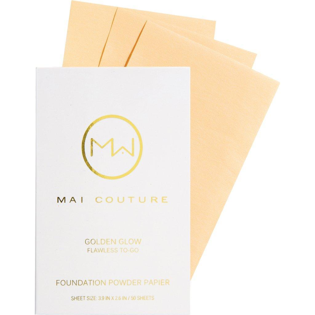 Foundation Powder Paper (Golden Glow)