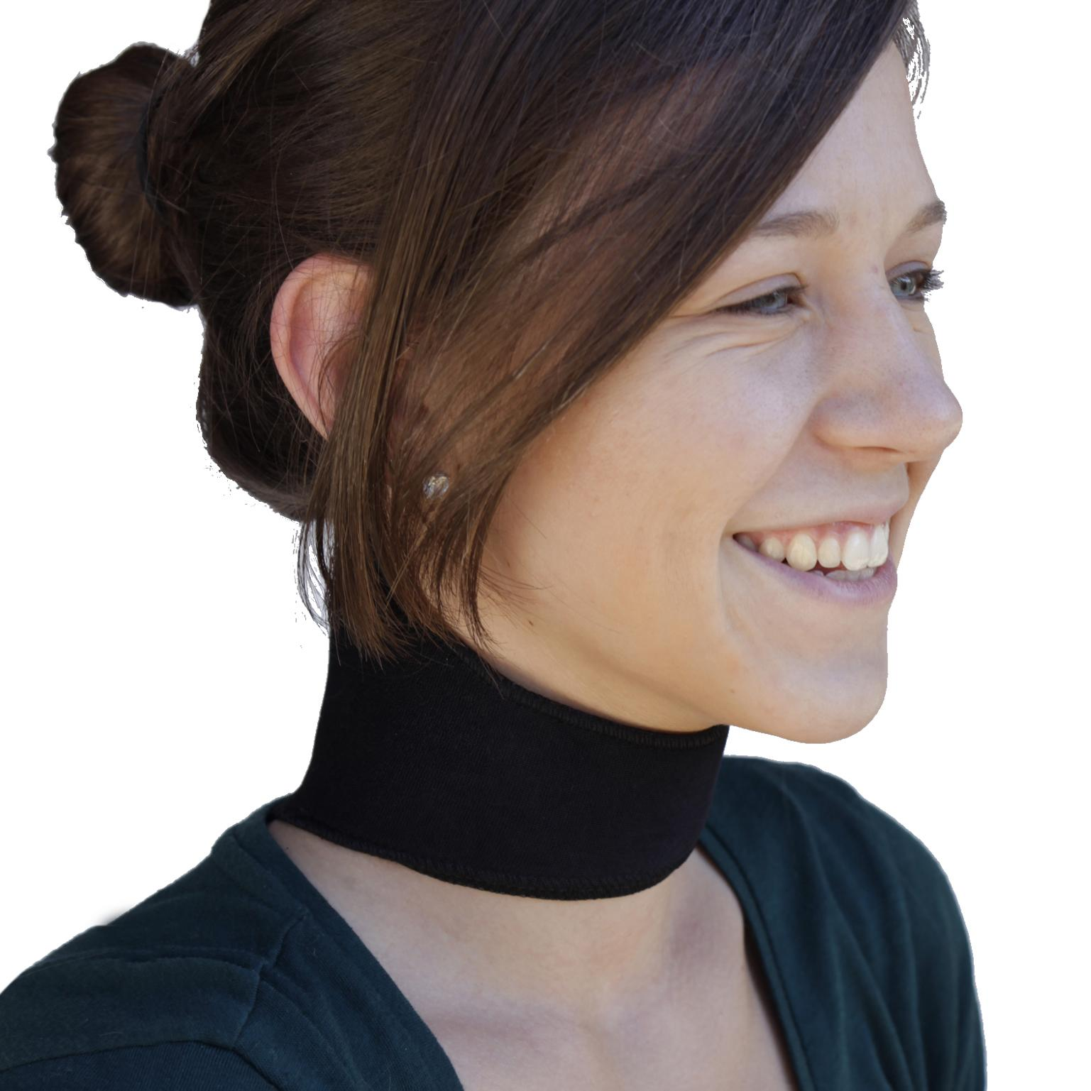 Self-Heating Magnetic Neck Support