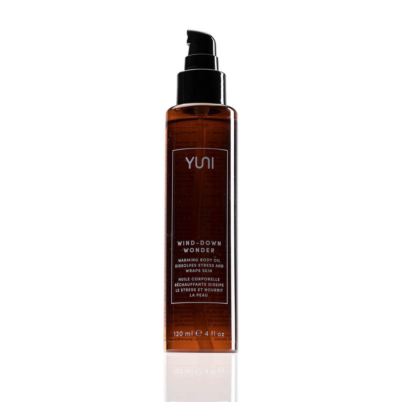 WIND-DOWN WONDER Warming Body Oil