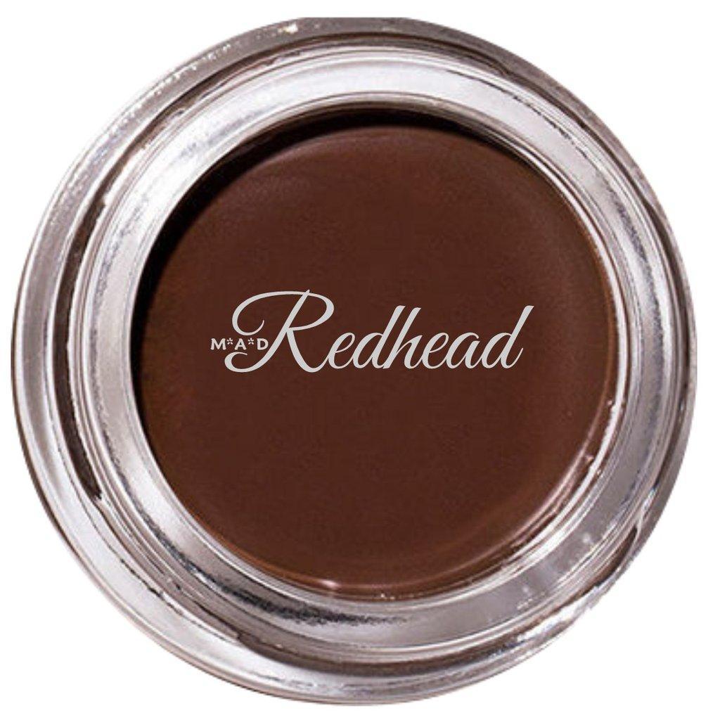 REDHEAD Indelible Gel Brow Liner Highly Pigmented, Waterproof, Budge-Proof, Smudge-Proof, Long-Wearing