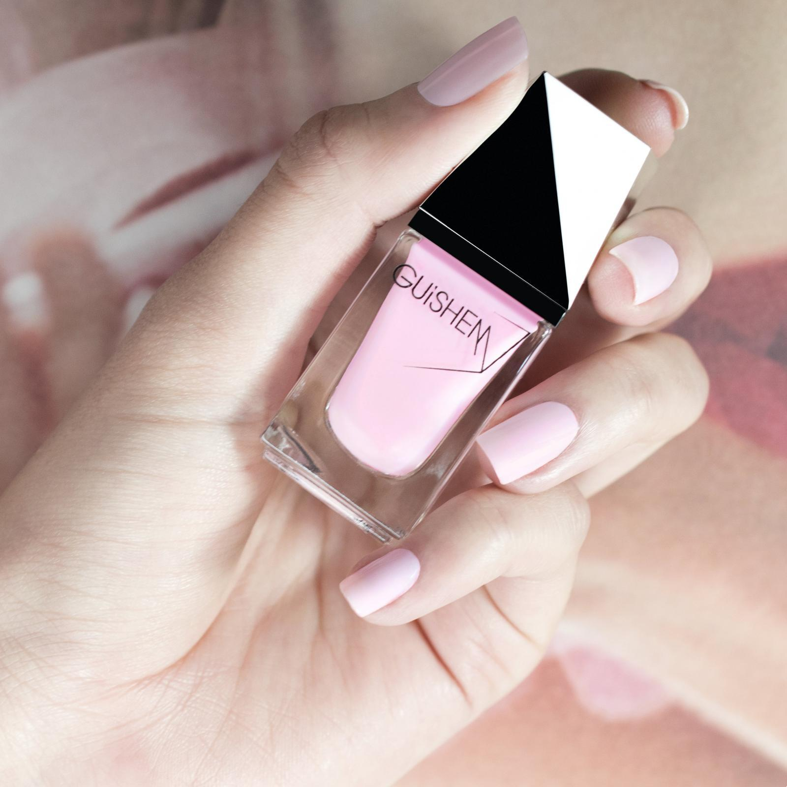 GUiSHEM Premium Nail Lacquer Shimmer Rose Sheer, In Love - 030
