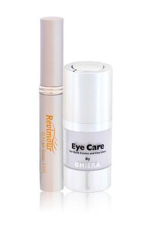 All Natural Revimour Lash & Brow Growth Serum + Illumizone Dark Circle Eye Serum