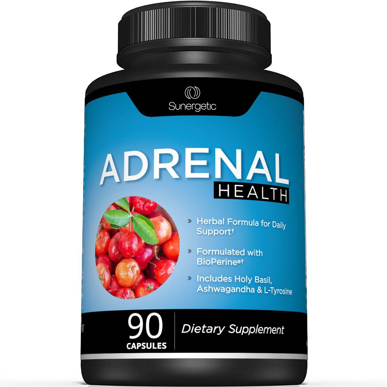 Sunergetic Premium Adrenal Support Supplement