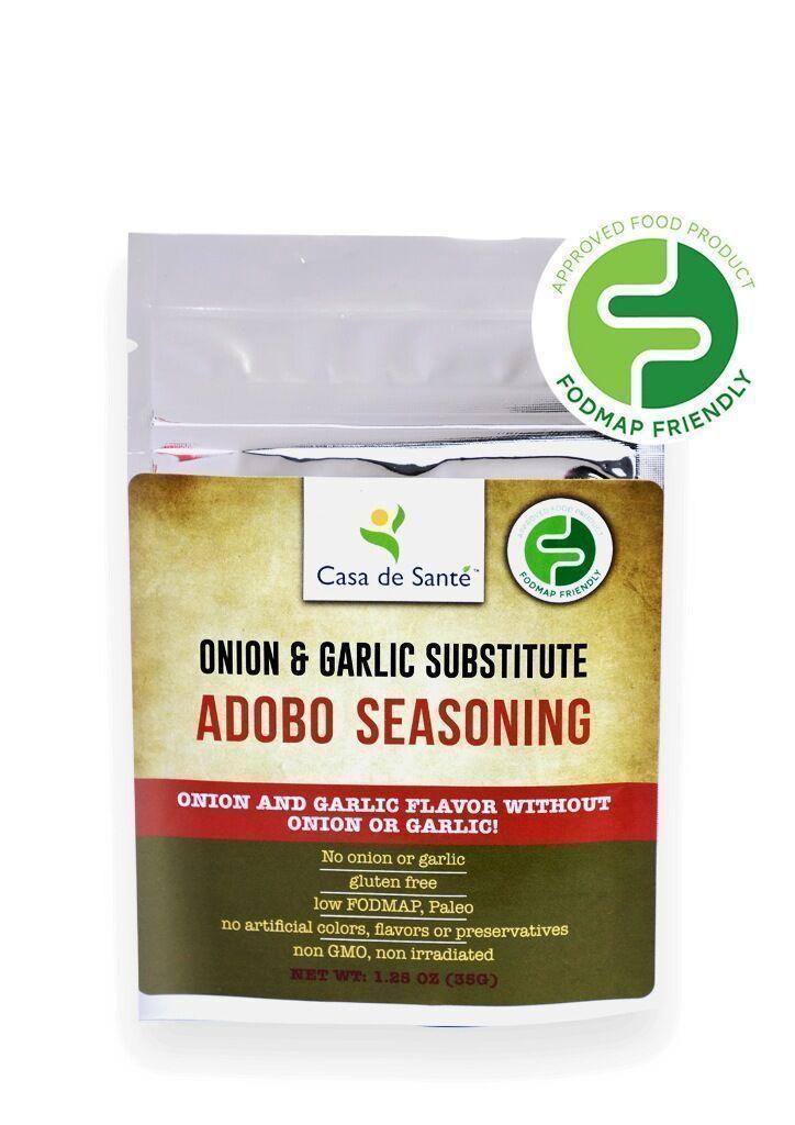 Low FODMAP Spice Mix (Adobo Seasoning) - No Onion No Garlic, Gluten Free, Gut Friendly, Onion & Garlic Substitute Seasonings, Paleo, Kosher