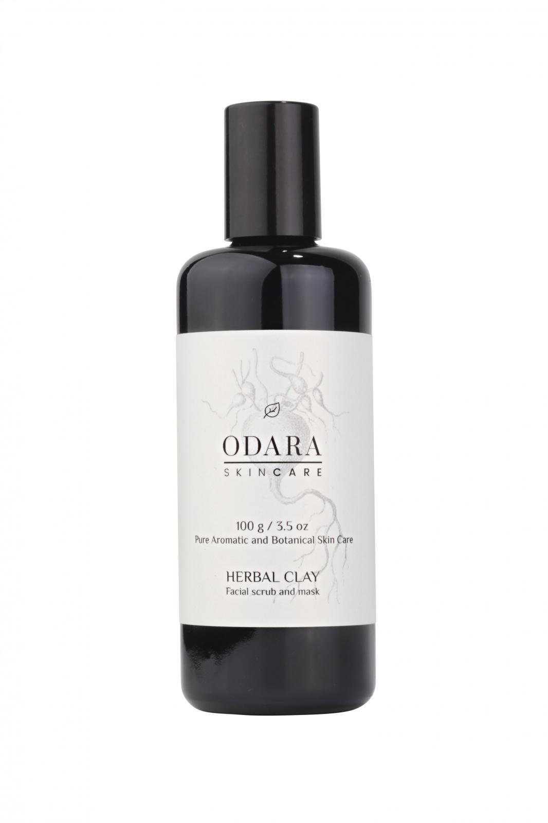 ODARA Herbal Clay Facial Scrub & Mask 100 G