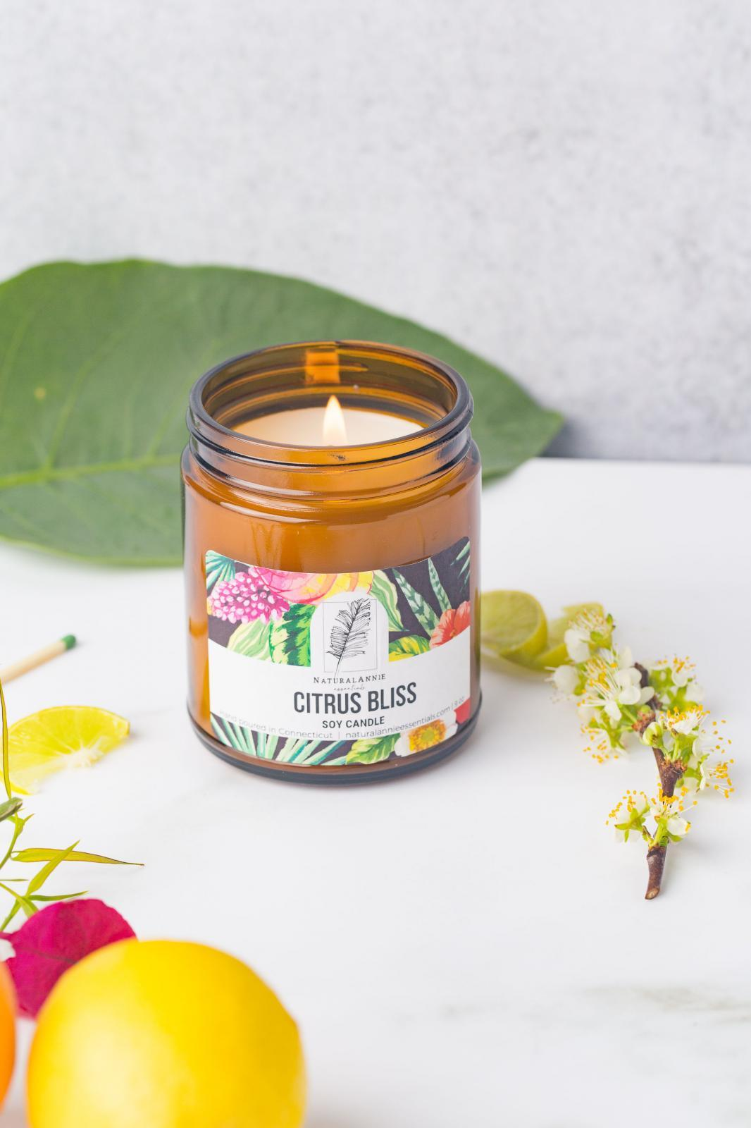 Citrus Bliss Soy Candle