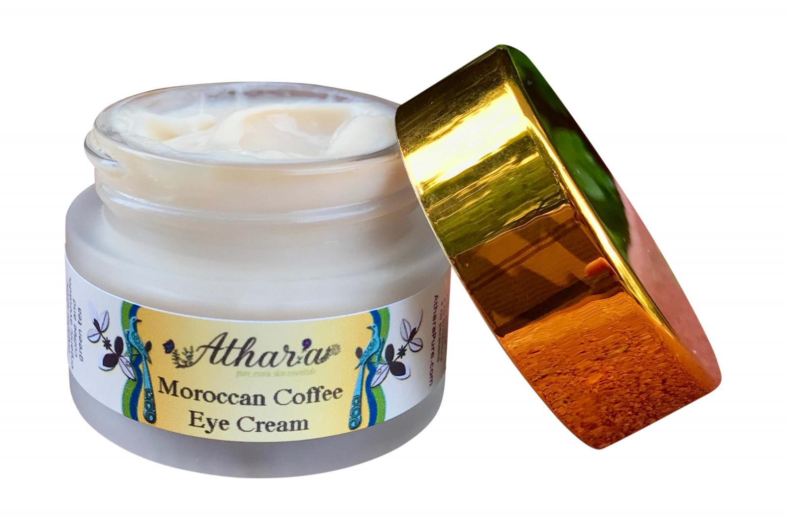 Moroccan Coffee Eye Cream™ (Vegan, Organic, 100% Natural)
