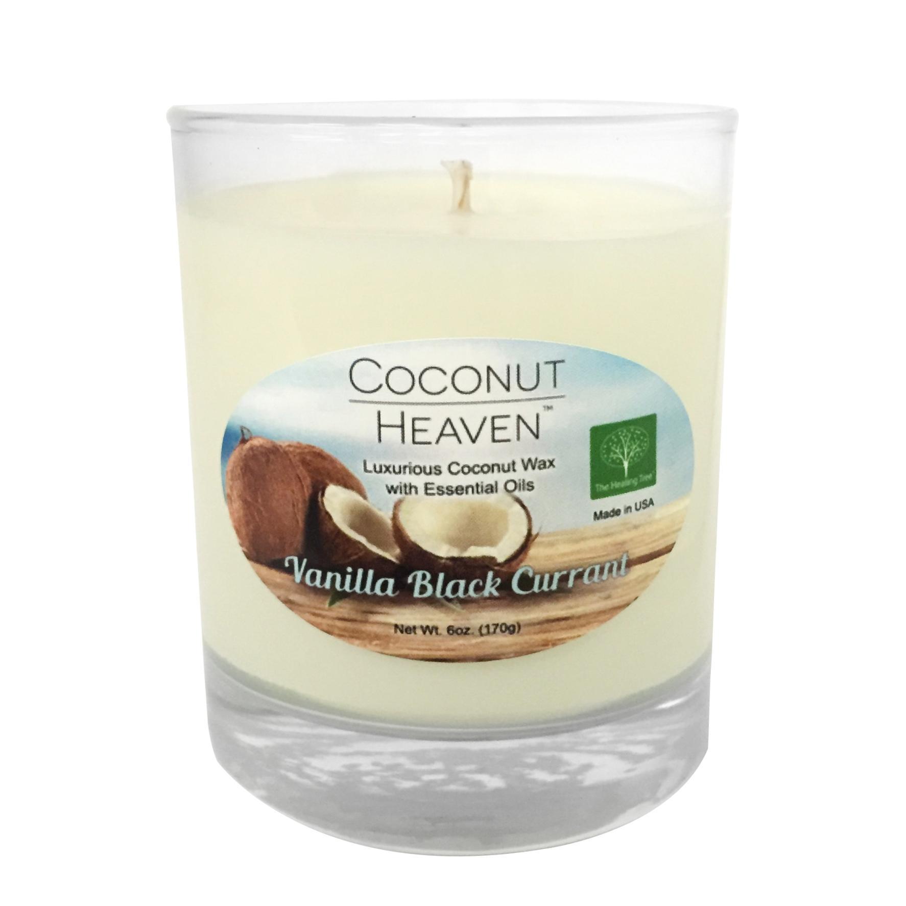 Vanilla Black Currant Coconut Candle
