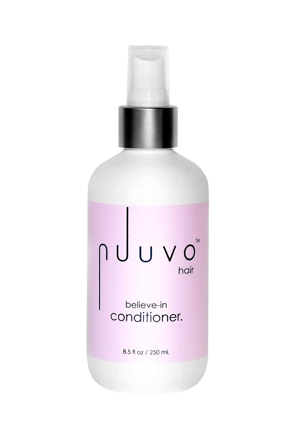 Nuuvo Haircare Believe In Conditioner - Paraben + Sulfate Free - 8.5 Ounce