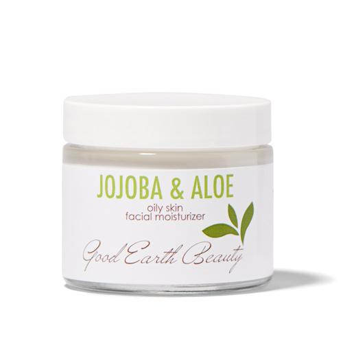 Facial Moisturizer - Jojoba Aloe for  Oily and Acne Prone Skin - By Good Earth Beauty