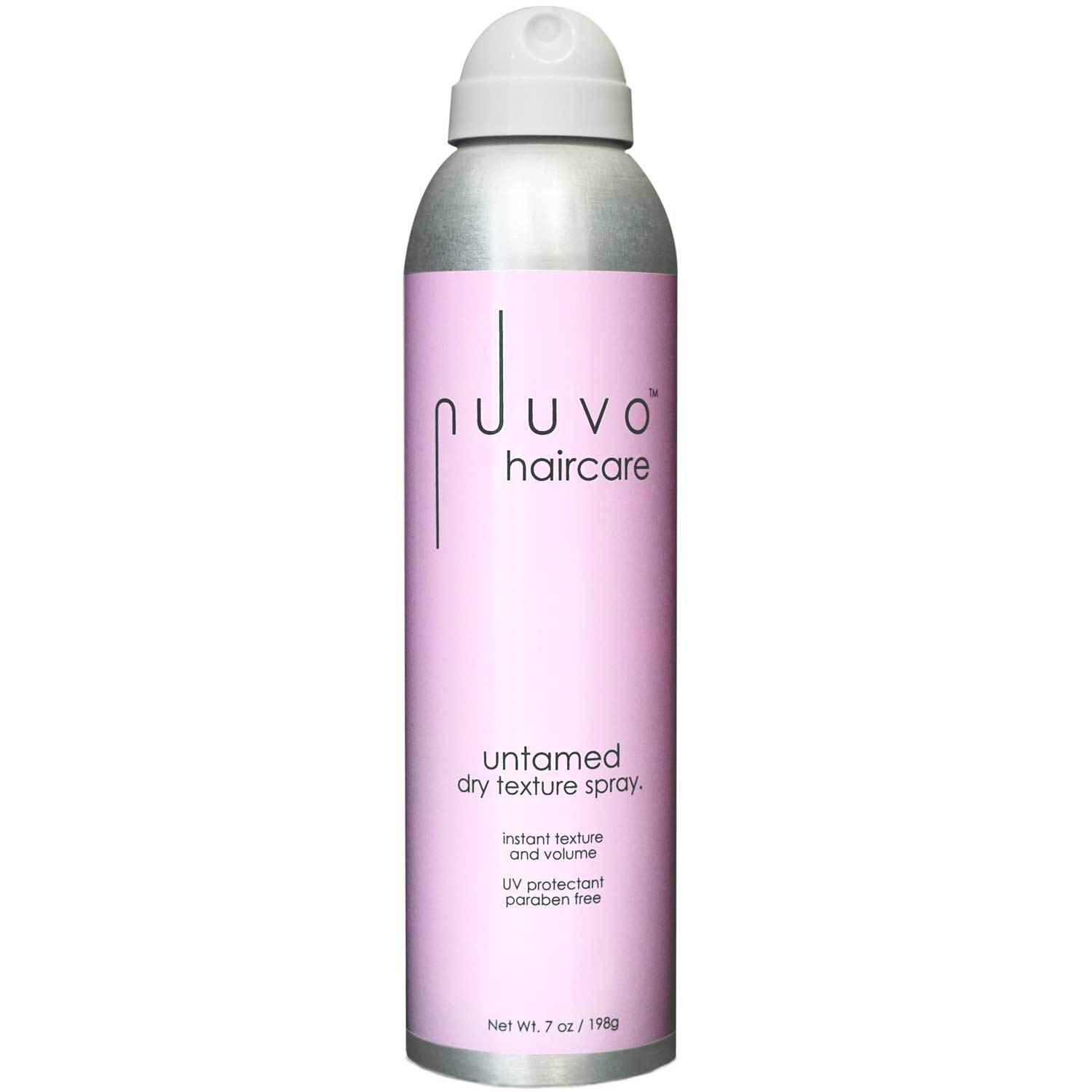 'untamed' Salon Professional Dry Texturizing Hairspray from Nuuvo Haircare - Adds Volume, Definition & Fullness