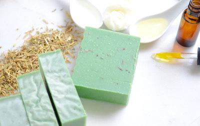 Rosemary Tea Tree Eucalyptus Soap - Natural & Handmade