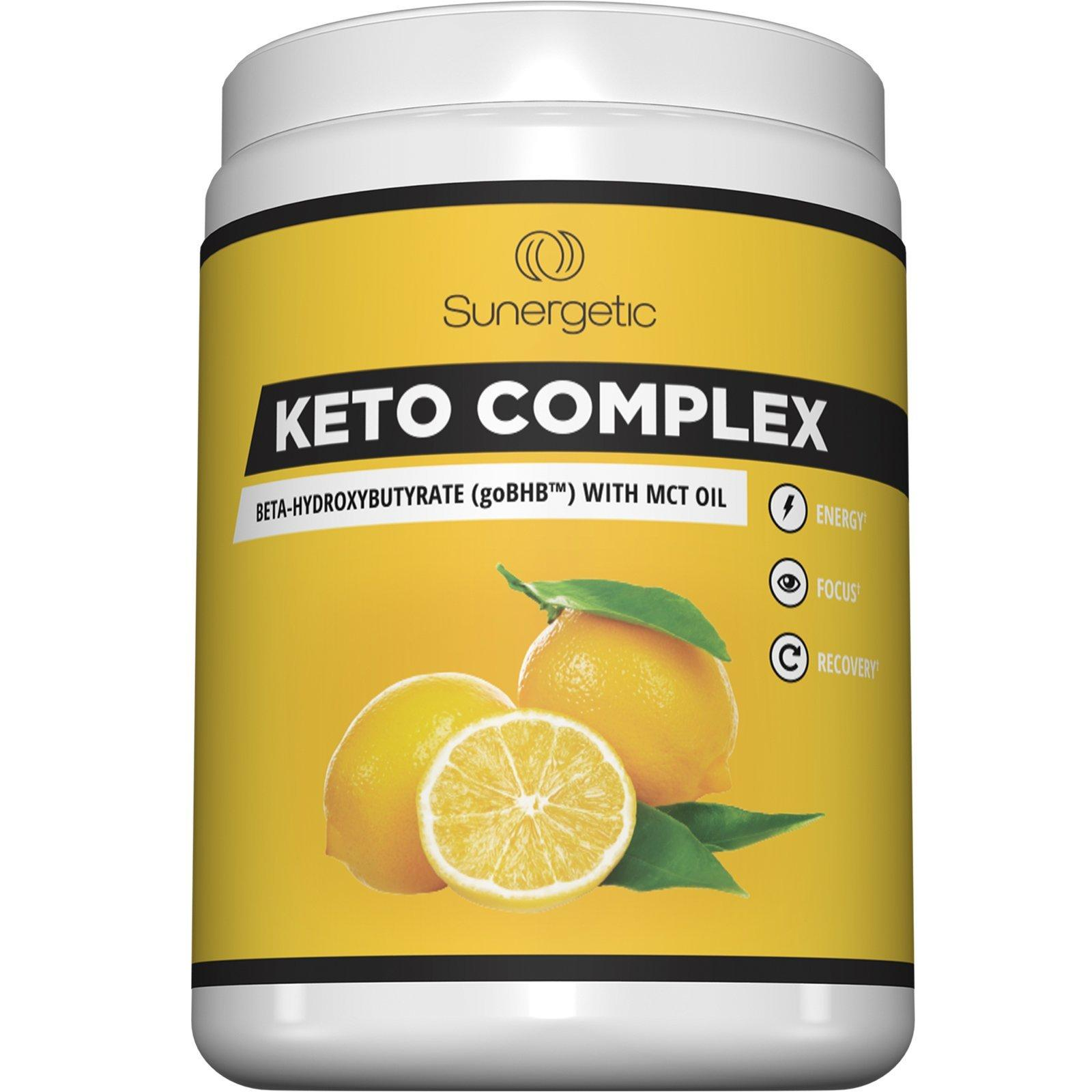 Sunergetic Keto Complex - Premium Exogenous Ketones BHB Salts with MCT Oil Supplement