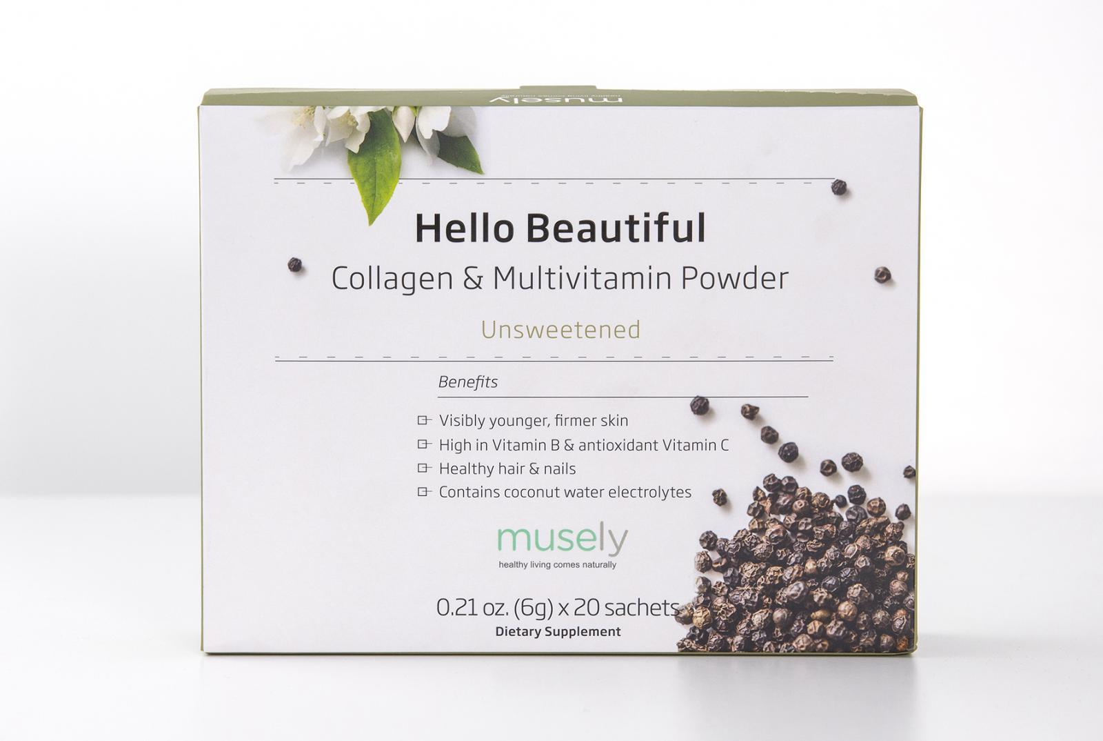 Hello Beautiful - Collagen & Multivitamin Powder (Box of 20)