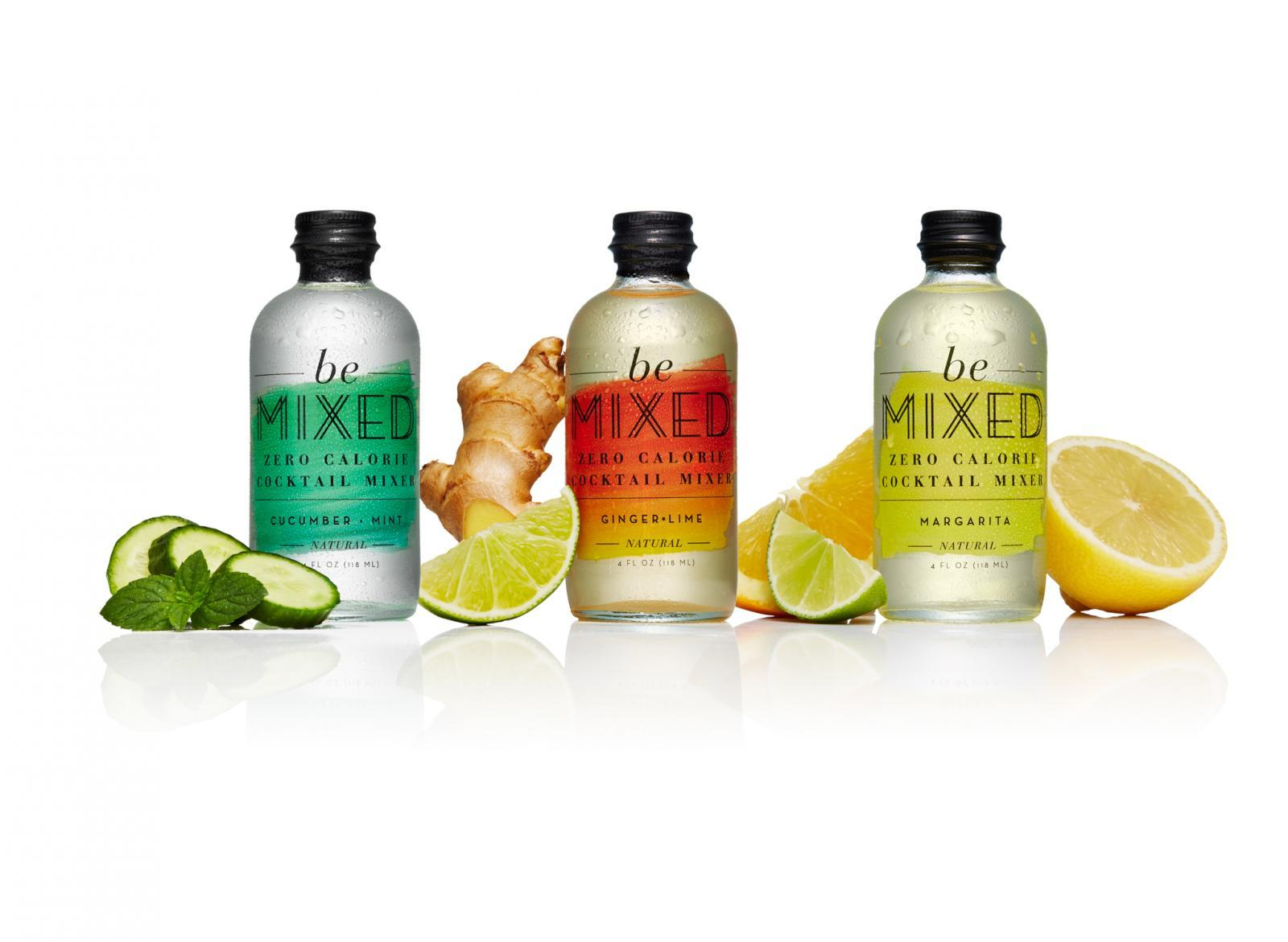 Zero Calorie Cocktail Mixers Variety Pack (12 bottles, 4oz each)