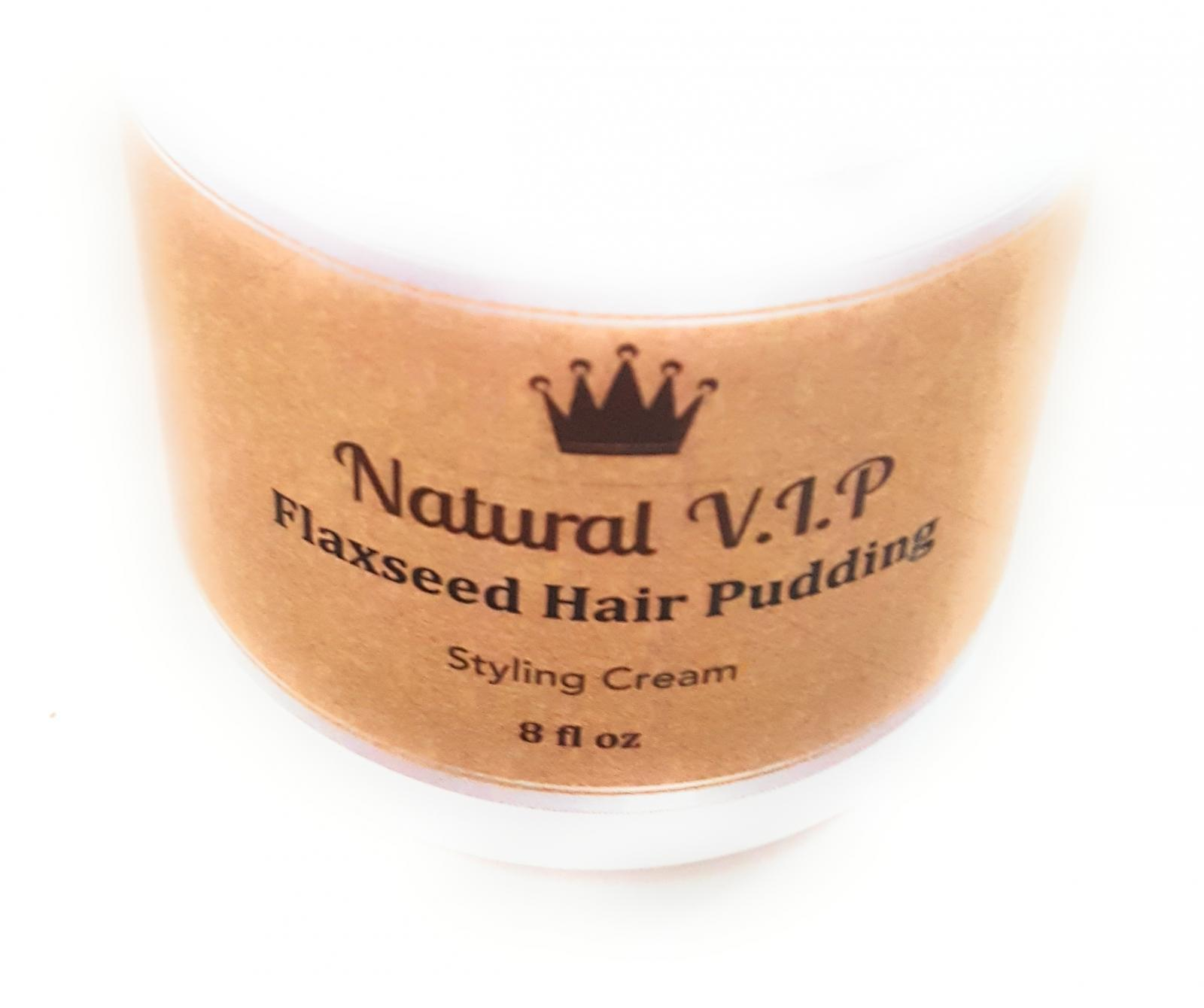 Flaxseed Hair Pudding – Styling Cream for Natural Hair