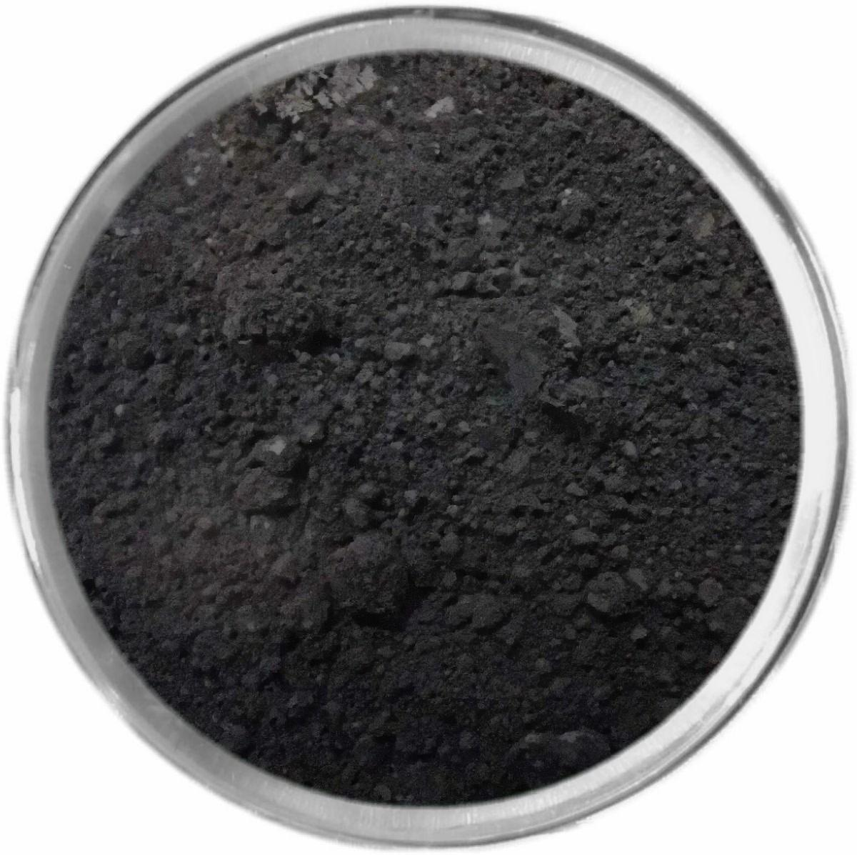 BLACK loose powder mineral multi-use color makeup bare earth pigment minerals