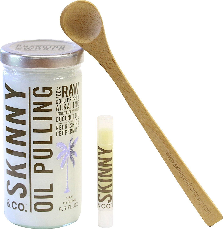 Skinny & Co. Peppermint Oil Pull Kit