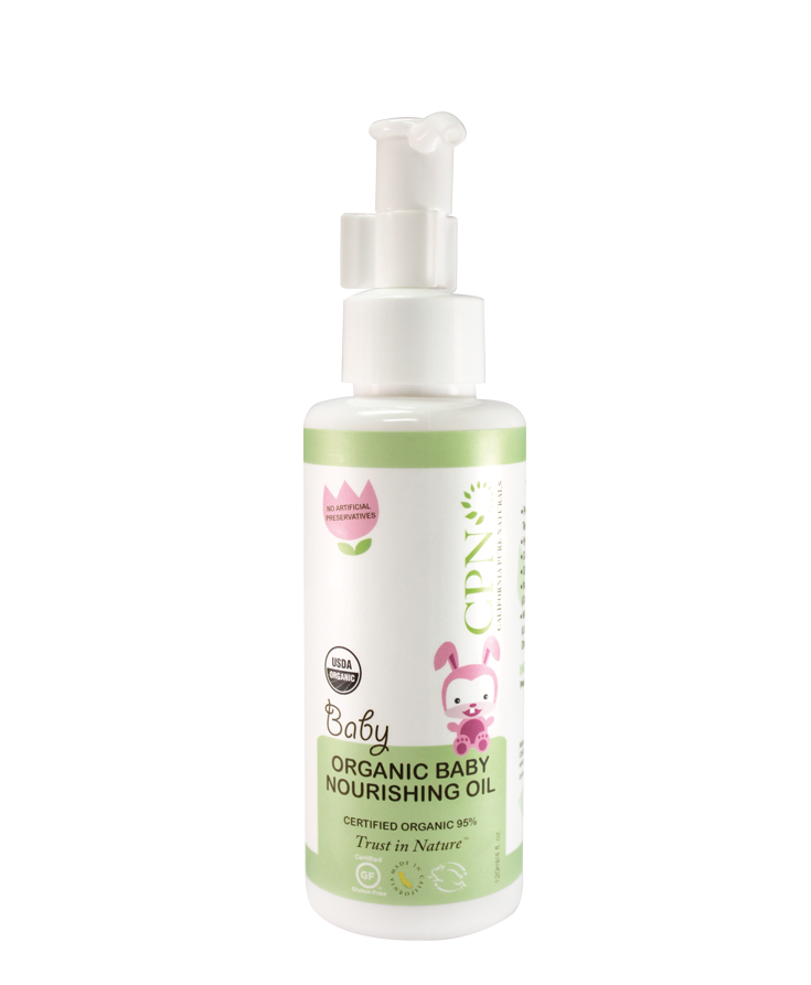 CPN Organic Baby Nourishing Oil by California Pure Naturals - Musely