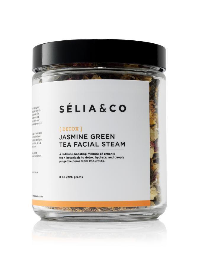 [DETOX] Jasmine Green Tea Facial Steam